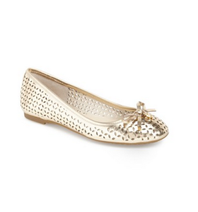 MICHAEL Michael Kors 'Olivia' Ballet Flat - hurry because they're almost sold out! Also 40% off!