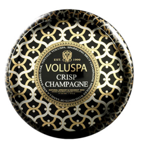 I was gifted this Voluspa Crisp Champagne candle a few years ago. It still smells great, and it's visually pretty too!